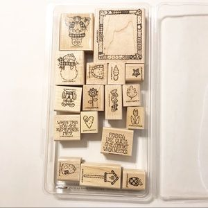 Stampin' Up Retired 1995 Quilts Give Comfort